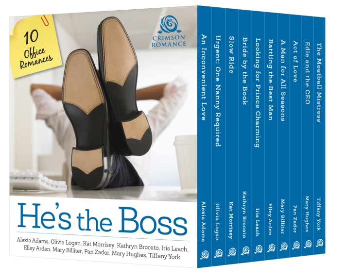 He's The Boss! Featuring Bride By The Book